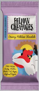 Fellow Creatures Creamy Milkless Chocolate 10x70g