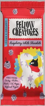 Fellow Creatures Raspberry White Chocolate 10x70g