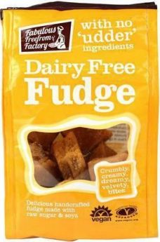 Fabulous Freefrom Factory FudgeeBites (Dairy Free) 75g x10
