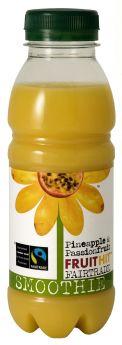 Fruit Hit Fair Trade Pineapple & Passion fruit Smoothie (6x330ml)