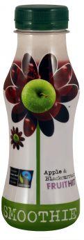 Fruit Hit Fair Trade Apple & Blackcurrant Smoothie (12x250ml)