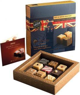 Fudge Kitchen Gourmet Love Fudge Miniature Selection (9 Pieces) 190g x10