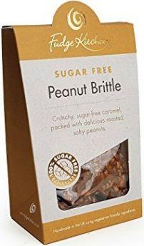Fudge Kitchen (Sugar Free) Almond Bark 125g x6