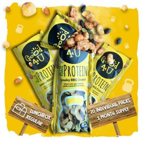 Good4u Smoky BBQ Crunch Veggie Protein Shots 25g x20
