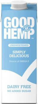 Good Hemp Original Dairy and Soya Milk Alternative 330ml x12