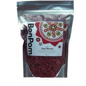 BonPom Raw Organic Goji Berries 1 x400g
