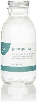 Georganics Spearmint Oilpulling Mouthwash 300ml x10