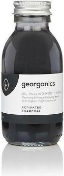Georganics Activated Charcoal Oilpulling Mouthwash 300ml x10