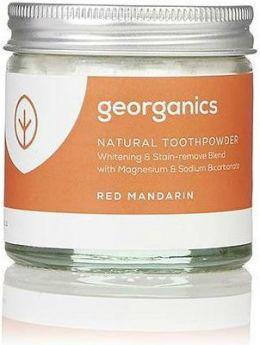 Georganics Red Mandarin Natural Toothpowder 60ml x10