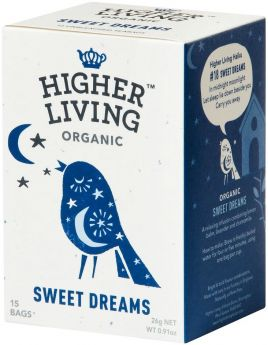 Higher Living Organic Classic String-Tag & Enveloped Strawberry and Watermelon Tea 22g (15's) x4