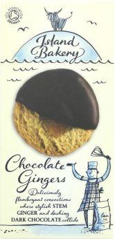 Island Bakery Chocolate Gingers 150g x12