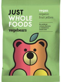 Just Wholefoods Vegebears 100g x8