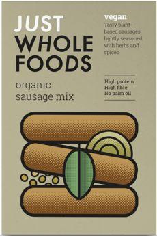 Just Wholefoods Organic Burger Mix 125g x6