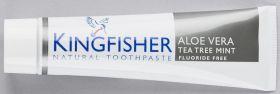 Kingfisher Toothpaste Aloe Vera/Tea Tree Mint 12x100ml