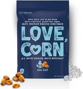 Love Corn Premium Sea Salt Crunchy Corn 45g x10