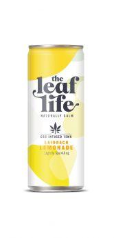 Leaf Life Laidback Lemonade CBD Infused Drink