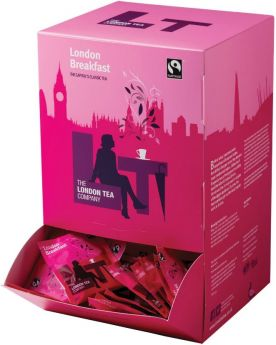 London Tea Company Fair Trade London Breakfast Pyramid Tea Bags 150g (50s) x3