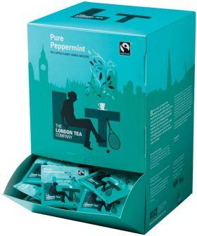 London Tea Company Fair Trade Pure Peppermint Teabags 40g (20s) x6