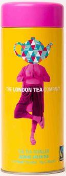 London Tea Company Fair Trade The Guvnor - Earl Grey Pyramid Tube Tin (15's) x12