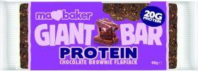 PROMO Ma Baker GB Protein CHOCOLATE BROWNIE Flapjack 90gx20