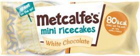 Metcalfe's Skinny White Chocolate Coated Mini Rice Cakes 16g x16