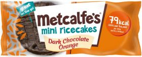 Metcalfe's Skinny White Chocolate Mini Rice Cakes 16g x16