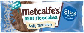 Metcalfe's Skinny Orange Dark Chocolate Coated Mini Rice Cakes 16g x16