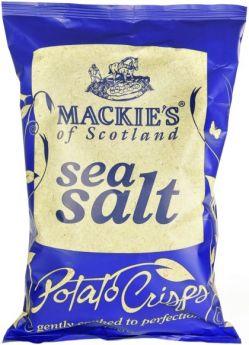 Mackie's of Scotland Sea Salt Potato Crisps 40g x24