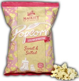 Mackie's of Scotland Sweet and Salted Popcorn 30g x20