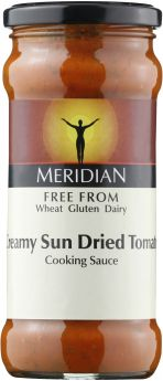 Meridian Free From Creamy Mushroom and White Wine Cooking Sauce 350g x6