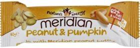 Meridian Peanut and Pumpkin Nut Bar 40g x18