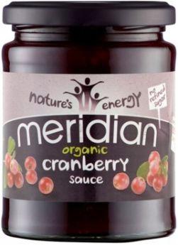 Meridian Organic Bramble Fruit Spread (No Refined Sugar) 284g x6