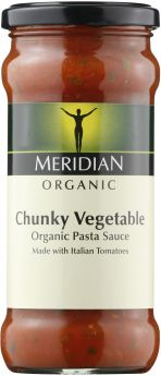 Meridian Organic Free From Tomato and Chilli Pasta Sauce 350g x6
