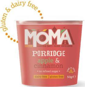 Moma Coconut and Chia Instant Porridge Pots 60g x12