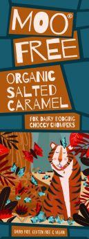 Moo Free Organic Marvellously Moreish Cinder Toffee Rice Milk Cocoa Chocolate Bar 80g x12