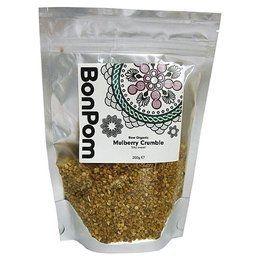 BonPom Raw Organic Mulberry Crumble 1 x200g
