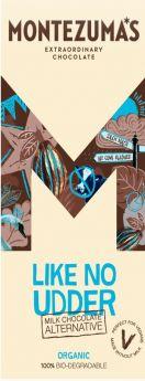 Montezuma Organic Dairy-Free Milk Chocolate 100g x12