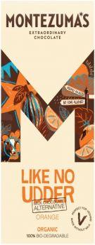 Montezuma Orangic Dairy-Free Milk Chocolate Orange 100g x12