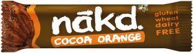 NAKD Gluton Free Cocoa Orange (18x35g)