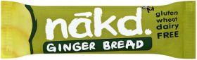 NAKD Gluton Free Ginger Bread (18x35g)