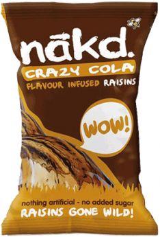 NAKD Amazin Raisins Orange Pack (18x25g)