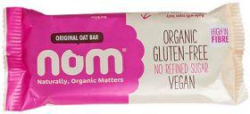 Nom (Naturally, Organic Matters) Organic Oat Bar - Cacao & Raspberry 52g x12