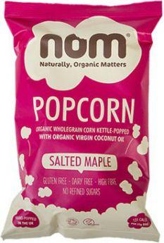 Nom (Naturally, Organic Matters) Organic - Popcorn Simply Salted 20g x20