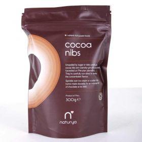 Naturya Organic Cocoa Nibs 300g x6