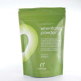 Naturya Organic Wheatgrass Powder 200g x6