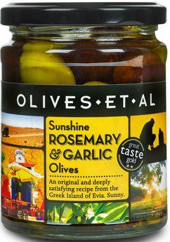 Olives Et Al Matured Kalamata Pitted Black Olives 250g x6
