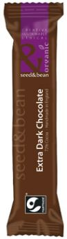 Seed and Bean Fair Trade & Organic Sicilian Hazelnut and Almond Rich Milk Chocolate 85g x8