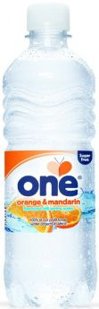 One Water Lemon and Lime Flavoured Still British Spring Water 500ml x24