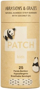 PATCH Coconut Oil Kids Adhesive Strips - 25 Tube