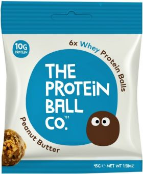 Protein Ball Co. Peanut Butter (22% Whey Protein) 45g x10